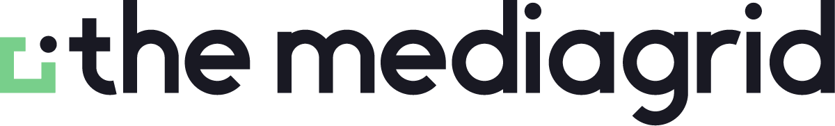 The MediaGrid logo regular